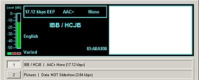 IBB / HCJB from Greenville on 15475 kHz