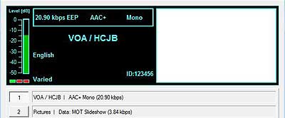 VOA / HCJB on 15475 kHz
