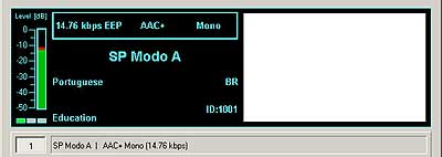 SP Modo A (Sao Paolo, Brazil) on 26040 kHz