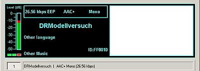 Modellversuch, Hannover on 26045 kHz