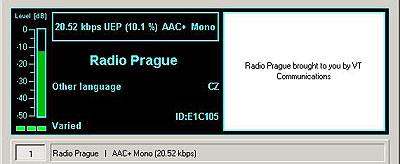 Radio Prague from Rampisham, GBR