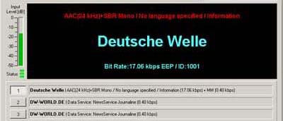 Deutsche Welle on 6140 kHz