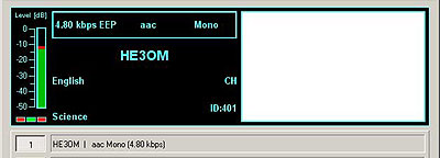 HE3OM 3780 kHz (Sottens), Switzerland