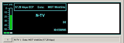 N-TV from Nauen, Germany on 9655 kHz