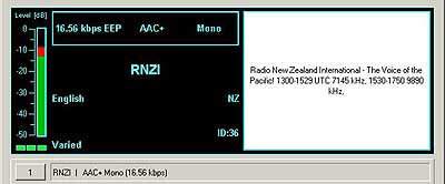 Radio New Zealand from Rangitaki