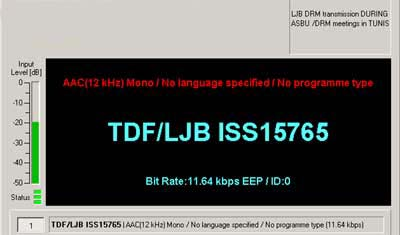 TDF / LJB Issoudun,  15765, but heard on  15770 kHz